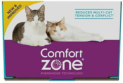 LM Comfort Zone Multi-Cat Diffuser Refills for Cats & Kittens 6 Count - (6 x 48