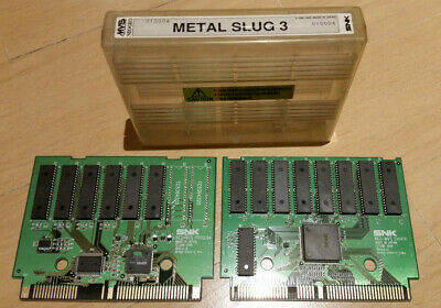 METAL SLUG 3 NEO GEO MVS original CARTRIDGE HOLO LABEL snk jamma pcb arcade jeu