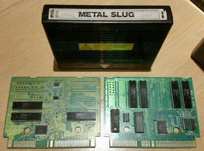 METAL SLUG 1 NEO GEO MVS 100% ORIGINAL CARTRIDGE TESTED SNK arcade game not aes
