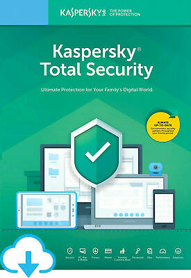 Kaspersky Total Security 2019 2020 1 Pc Device 1 Year | Global Key!