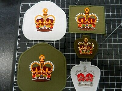 Rank badges WO2. x 5 different.