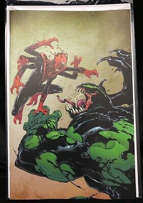 Absolute Carnage: Miles Morales #2 2019 NYCC panel Exclusive Variant NM Marvel