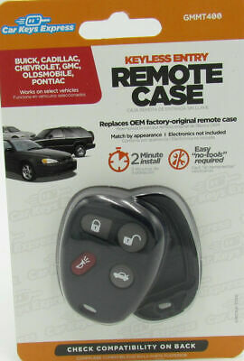 Car Keys Express GMMT400 Keyless Entry Remote Case GM With Remote Trunk D.I.Y.
