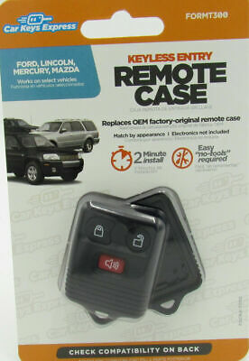 Car Keys Express FORMT300 Keyless Entry Remote Case Ford D.I.Y. New