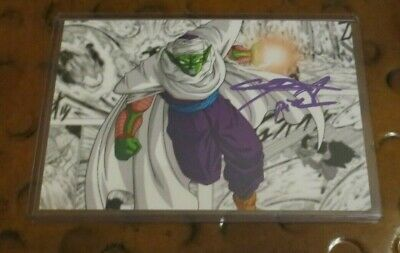 Chris Sabat voice of Vegeta & Piccolo Dragonball Z signed autographed photo