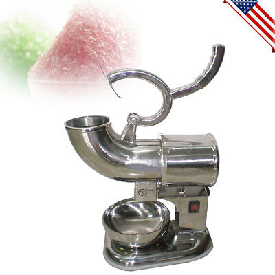 220W Commercial Ice Shaver Machine Shaved Icee Maker Sno Snow Cone USA STOCK!