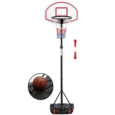 Kids Basketball Hoop System Height Adjustable Basketball Stand Portable Outdoor