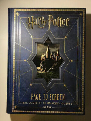 Harry Potter Page to Screen The Complete Filmmaking Journey Bob McCabe 531 Pages