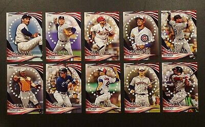 2019 Topps Update PERENNIAL ALL-STARS INSERT You Pick Complete Your Set