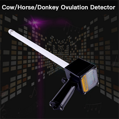 """Cow Horse Ovulation Detector Tester w/ 2.6"""" LCD Detection Veterinary Equipment"""