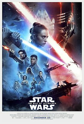Star Wars The rise of skywalker DEC 20 Poster #3 sizes 12x18 16x24 24x36 32x48