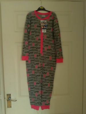 Bnwt Girls Clothes One Direction All In One Sleepsuit Pyjamas Age 6-7 Yrs