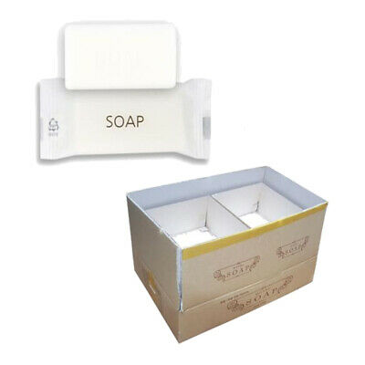 10g x 1000 Hotel Soaps Guest Amenities Individually Wrapped Travel Bar Wholesale