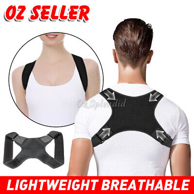 Posture Corrector Unisex Body Shoulder Brace Back Support Strap Belt Adjustable