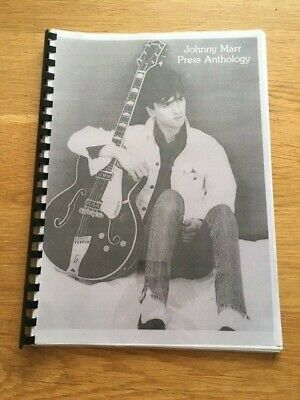 Johnny Marr Press Anthology 78 page booklet The Smiths Manchester