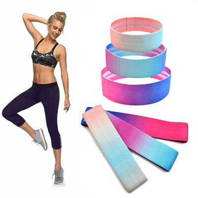 Fabric Resistance Bands - Heavy Duty Booty Bands | Glute Hip Circle | Non-Slip