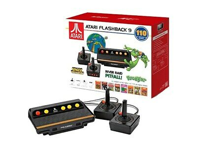 Atari Flashback 9 Classic Game Console 110 Games Wired Joystick Controllers HDMI