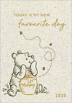 Disney, Winnie The Pooh Classic Official A5 Diary 2020