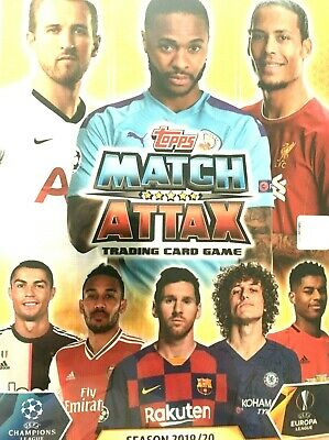 MATCH ATTAX 2019/20 CHAMPIONS LEAGUE SWAPS  or  BUY  MINT CONDITION