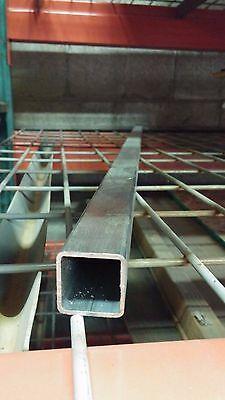 """1'' x 1'' (.120"""" wall) Stainless Square Tube 60'' Length"""