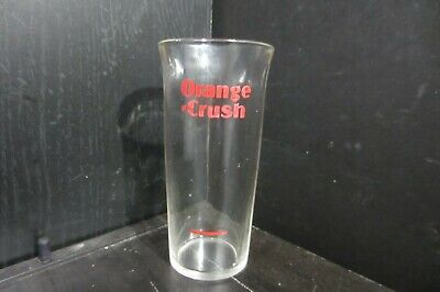 *ORANGE CRUSH* Vintage ACL Drinking Soda Glass / Fountain / Syrup Line / Sweet!!