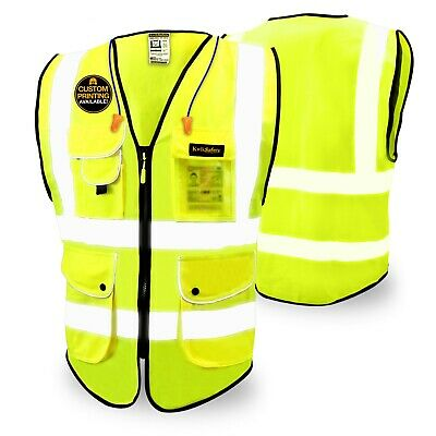 KwikSafety SUPERIOR | ANSI Class 2 High Visibility Economy Safety Vest