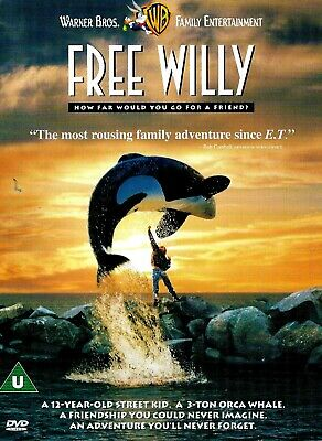 [DISC ONLY] Free Willy DVD Family Michael Madsen