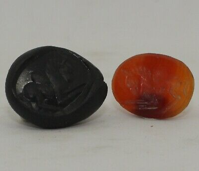 Superb Quality Ancient Carved Intaglio, Horse - Circa  200 Ad  - 0012