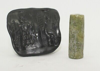 Nice Large Ancient Hard Stone Seal - Circa 500Bc  - 5433