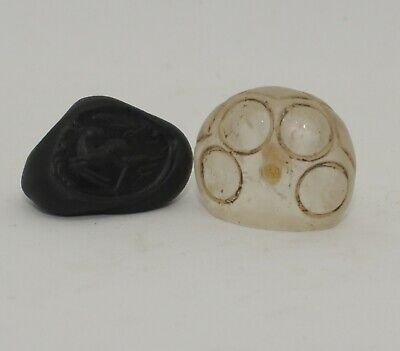 Superb Quality Ancient Carved Rock Crystal Seal - Circa 500Bc  - 003211