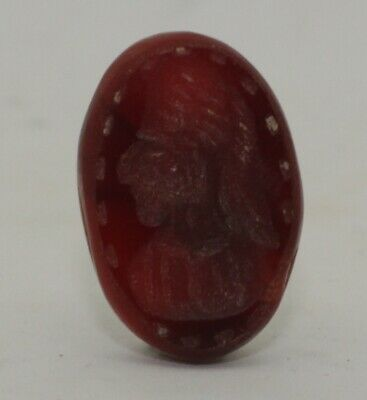 Superb Quality Ancient Carved Intaglio - Circa  200 Ad  - 004