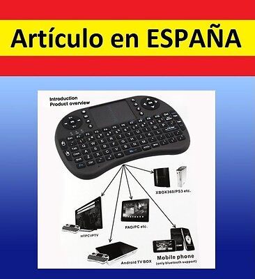 FLYMOUSE mini TECLADO RATON inalambrico wireless Android PC TV TOUCHPAD IPHONE