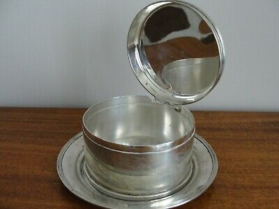 Sterling Silver Powder Dresser Box
