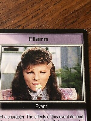 Babylon 5 Ccg Card Near Mint Condition Rare Flarn Promom Card Never Played With