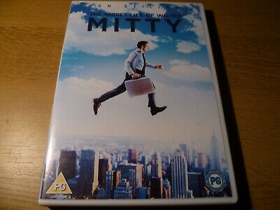 The Secret Life Of Walter Mitty DVD (VG)
