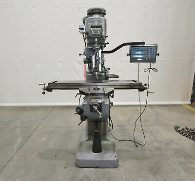 "14248 Bridgeport Series I Vertical Knee Mill, 9"" x 48"" Table"
