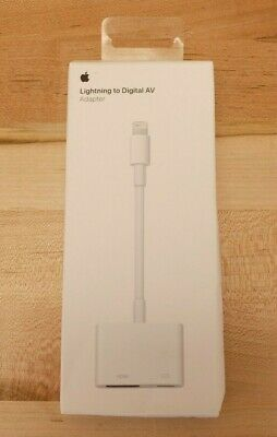 Apple MD826AM/A Lightning Digital AV Adapter iPhone iPad - Genuine - I4