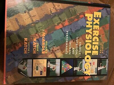 Exercise physiology (McArdle, Katch & Katch) fourth edition