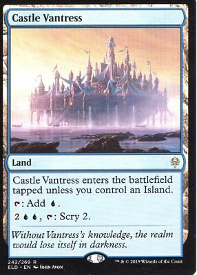 Castle Vantress - Throne of Eldraine Rare EN NM