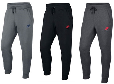 Men's Nike Slim Fit Joggers Tracksuit Pants Black/Grey/Blue