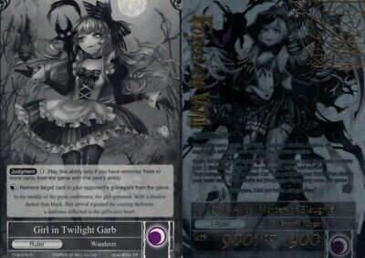 Girl in Twilight Garb Dark Alice Maiden of Slaughter New Force of Will 2B3