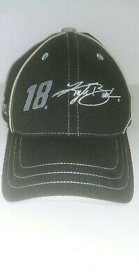 Nascar Kyle Busch Hat 18 M & M Racing 2012 Stretch Fit