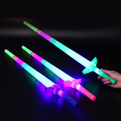 FLASHING WAND SENSORY 1 x LED FIBRE OPTIC UNICORN GALAXY WAND PARTY BAG