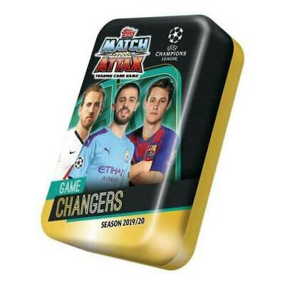 Match Attax Champions League Season 2019 / 20 Mega Tin With 50 Cards ~