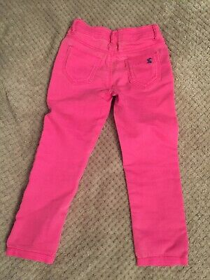 Joules Girls Trousers Size 4 Years Great Condition