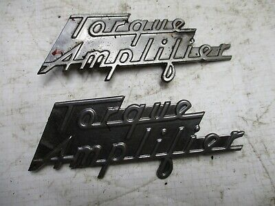 Farmall IH 300 350 400 450 Tractor Torque Amplifier Decals