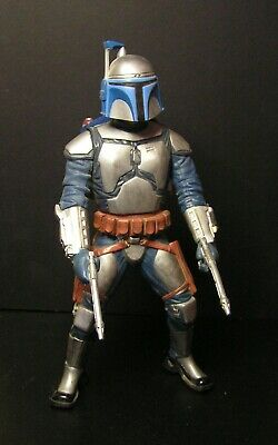 """Star Wars JANGO FETT Attack of the Clones  Collectible Action Figure 10"""" 2002"""