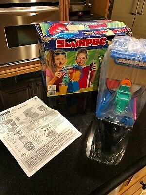 2005 SpinMaster Slurpee Machine 7-11 Brainfreeze Toy New Open Box