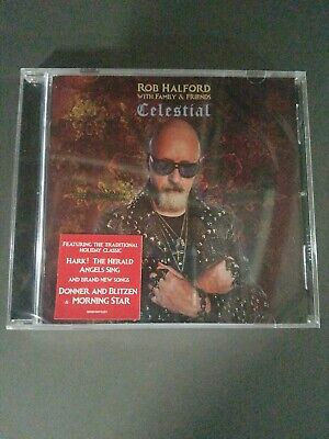 Celestial Rob Halford with Family & Friends Audio CD Discs celestial