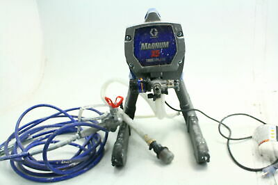 Graco Magnum 262800 X5 Stand Project Perfect Airless Paint Sprayer w Gun Blue